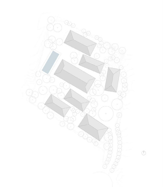 Tropical Cluster House Site Plan