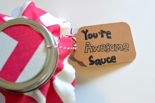 Homemade BBQ Sauce Gift for Valentine's Day | all dressed up with nothing to drink...