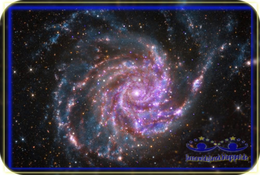 Piękno wszechświata - Przestrzeń Kosmiczna Galaktyka Spiralna - Duchowy Uzdrowiciel Berlin