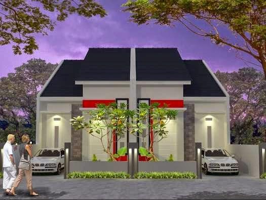 Desain model rumah siap huni