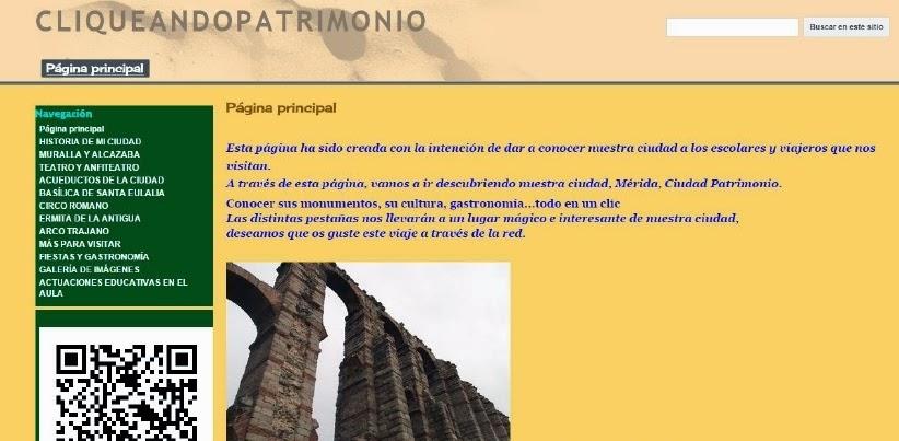 PÁGINA WEB AULA PATRIMONIO