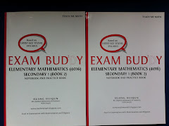 Exam Buddy (Emath Sec 1 Book 1, 2)  2nd Ed (2012-2013)