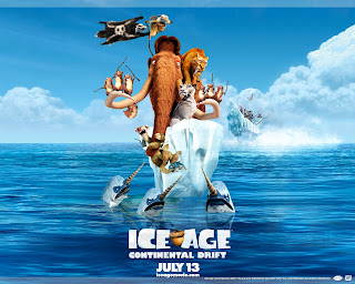 Ice Age 4 Continental Drift All Characters Poster HD Wallpaper