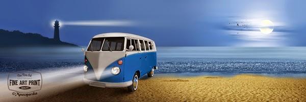 http://www.fineartprint.de/bilder/blue-beach-bulli,11289452.html