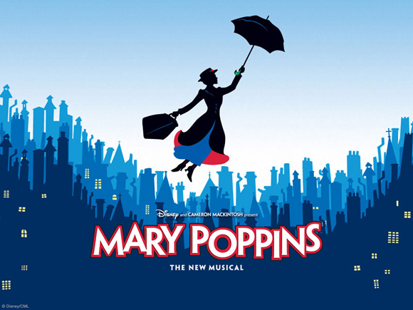 Mary Poppins The Broadway Musical showing at Ipswich Civic Centre - Sept 2015