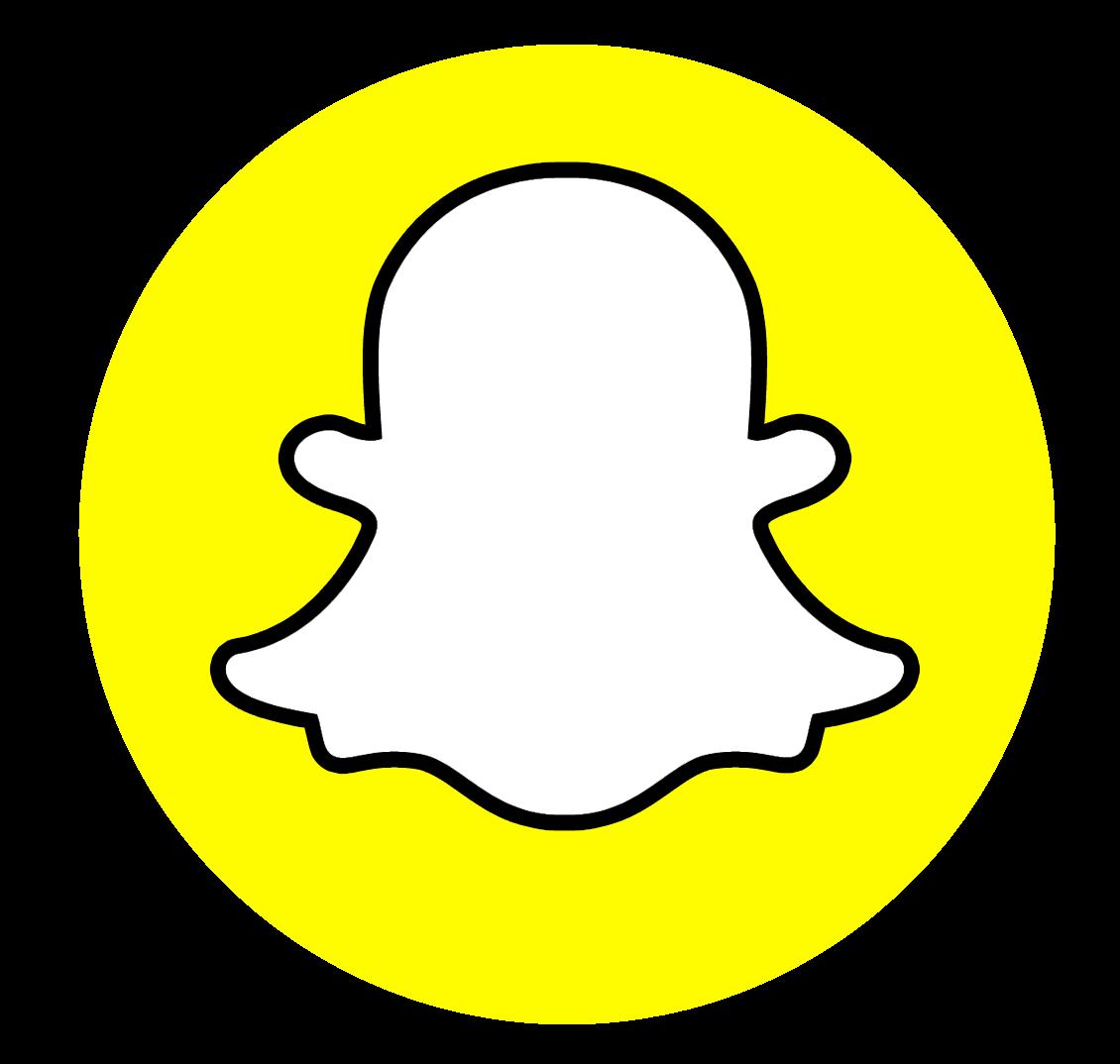 Estou no Snapchat, siga-me lá