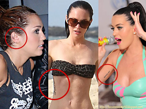 Katy Perry Original Tattoos ~ News On Celebrities Lady Gaga Meaning