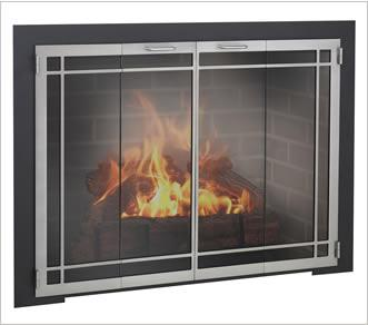 selecting fireplace glass doors fireplace shop blog