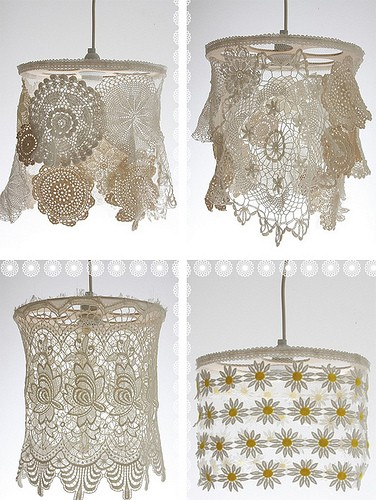 ideas to use these grandma s doilies on you house decor a classic