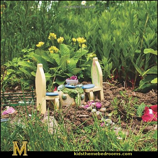 Decorating theme bedrooms - Maries Manor: fairy garden decorations ...