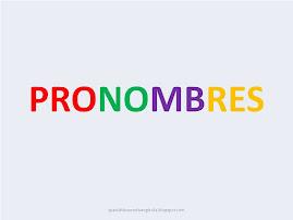 Los pronombres (teoría y formas)