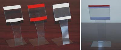 Cenówka z plexi - model CC3