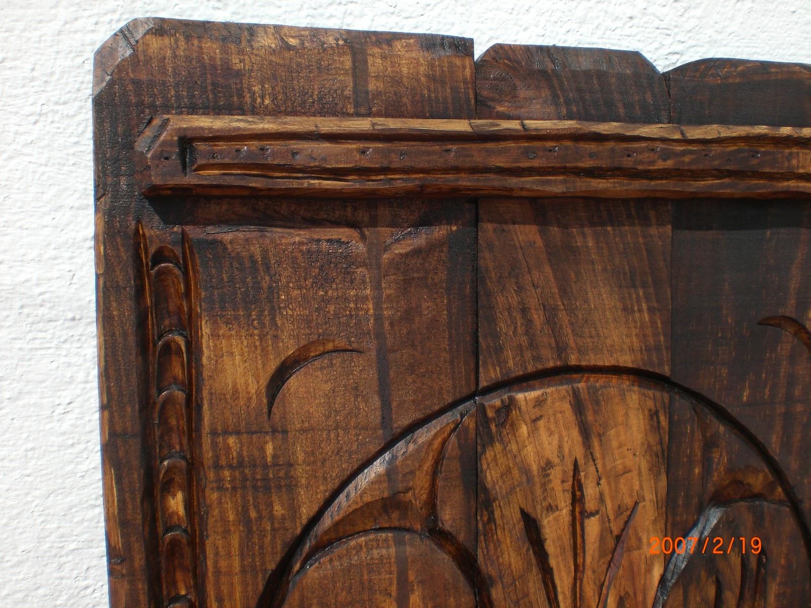 Decoracion en madera rustica para pared for Decoracion de paredes rusticas