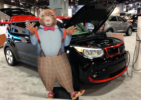 2015 KIA Soul EV Charging Up The Hamsters