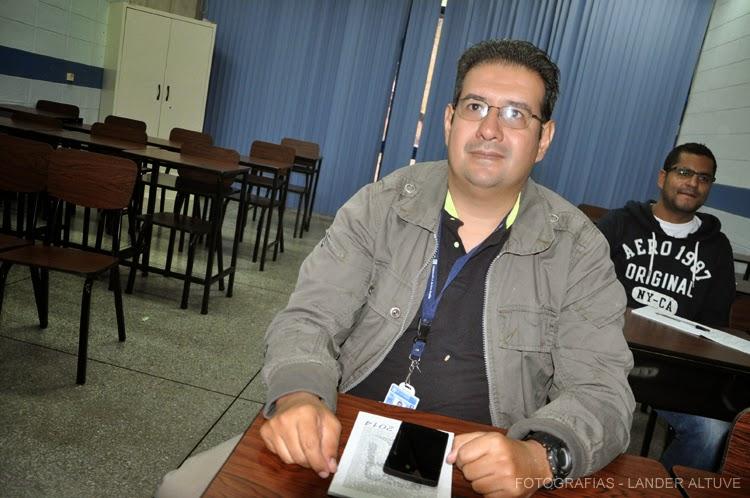 Rafael Rivas, presidente de Ulabots 2014. (Foto: Lánder Altuve)