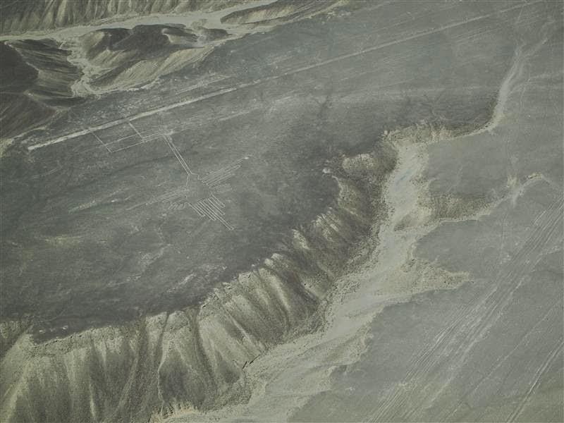 Líneas de Nazca - El colibrí
