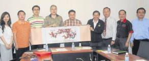 2012年:接待中国华文教育基金会代表团