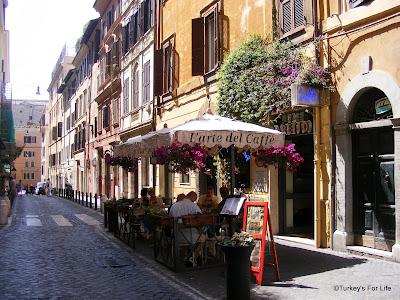 Rome Street Scene, Italy