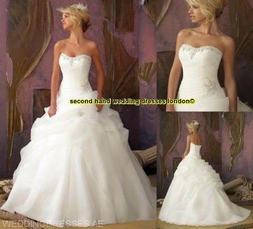 second hand wedding dresses london