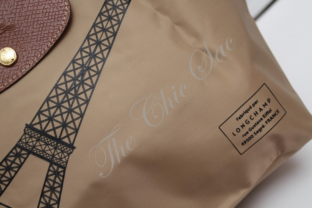 Chic Limited Edition Bag Folding The Longchamp The Eiffel Tower RHxCxwq
