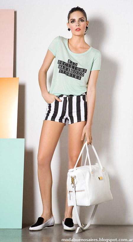 Shorts a rayas verano 2014. Shorts 2014.