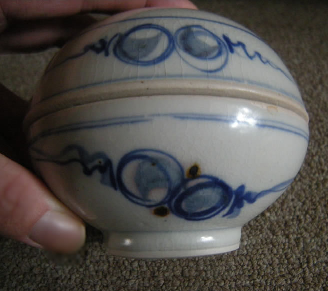 Rare 1979 Scott McDowell Covered Ceramic Bowl Studio Art Pottery