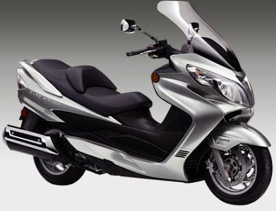 2011 Suzuki Burgman 400 ABS