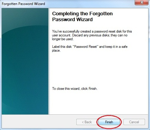 Cara Mengantisipasi Lupa Password Log On User Account - Create Password Reset Disk
