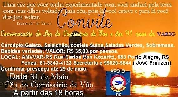 31 de maio, 18h: Porto Alegre