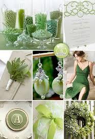 Green Wedding Theme