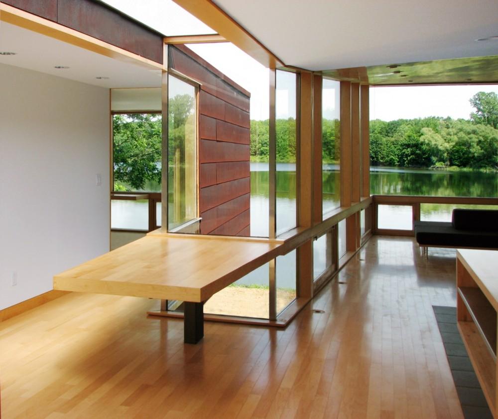 Modular Frame Prefab Cottage Michigan Usa Floor Plans