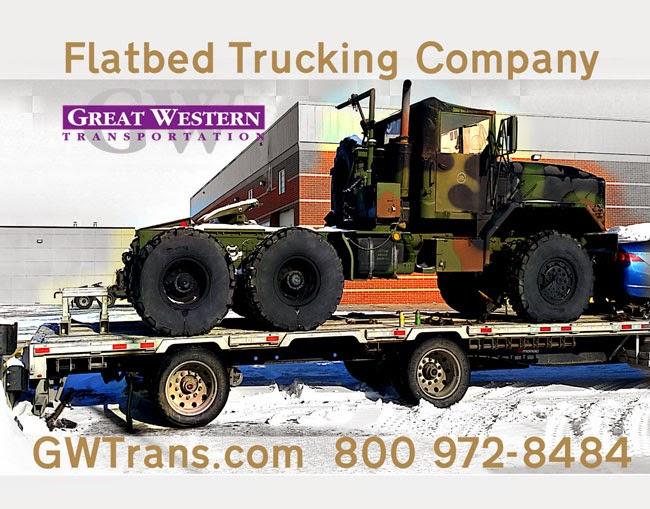 Great western transportation 1 800 972 8484 flatbed trucking carey nc