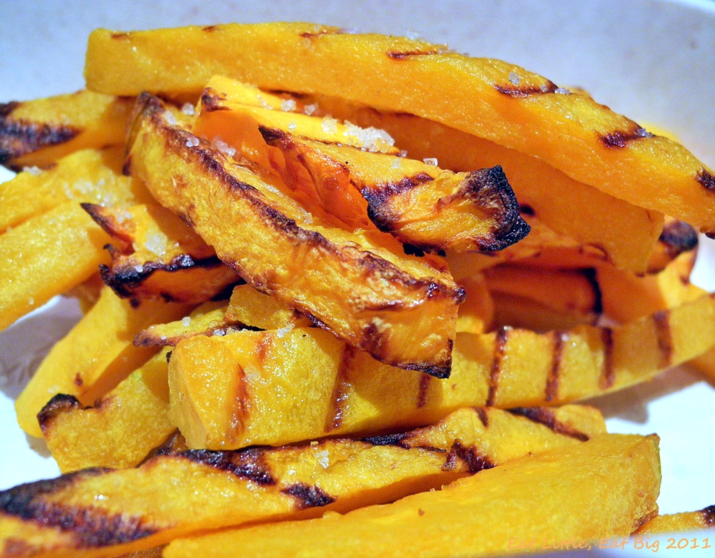 "Recipe for Butternut Squash ""Fries"" 