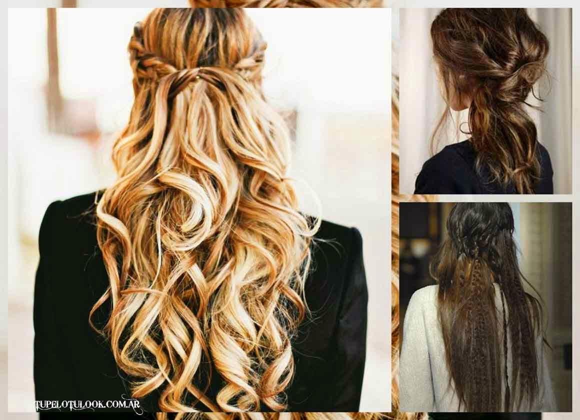 peinados 2015-semi sueltos
