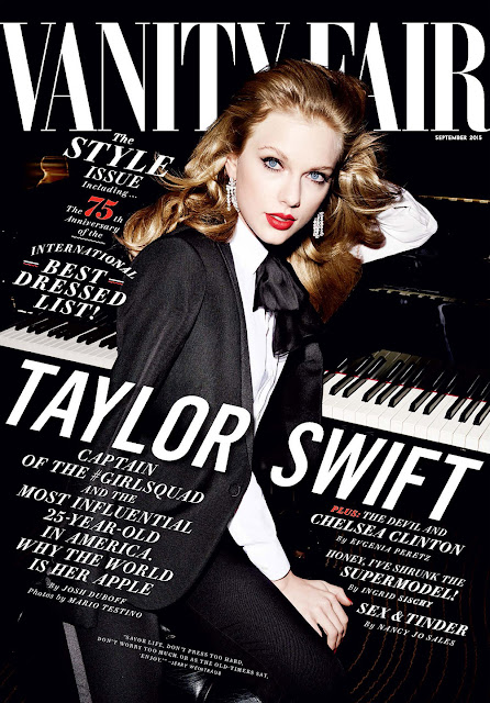 Singer @ Taylor Swift - Vanity Fair, photo shoot Mario Testino
