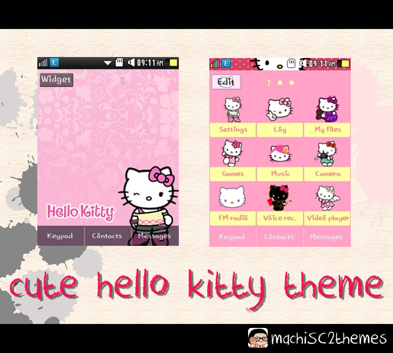 Hello Kitty Samsung Corby 2