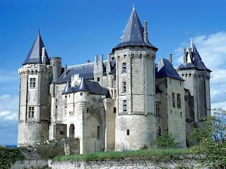 Castle Saumur, France Wallpapers