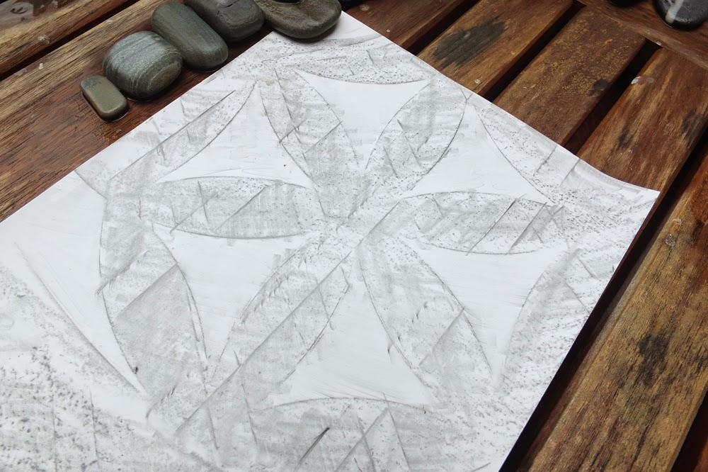 TerraSkin,rubbings, rock paper, ,graphite pencil, Staedtler pens, Staedtler woodless graphite, heartstonepaper.com