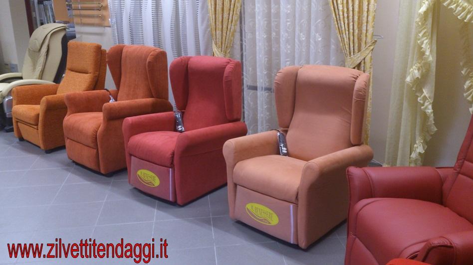 Tende materassi letti poltrone divani zilvetti tendaggi poltrone elettriche per anziani - Copripoltrona letto ...