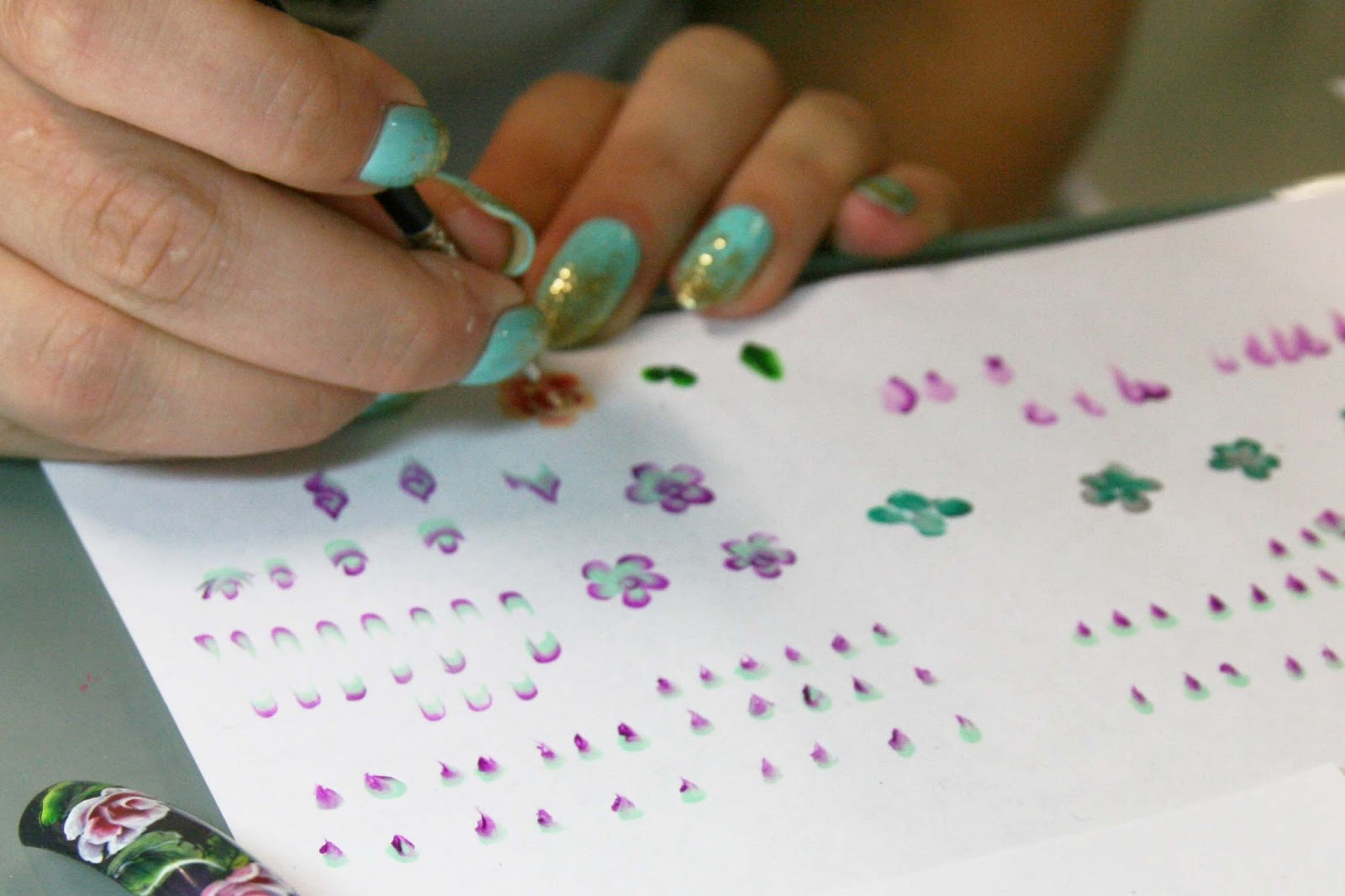Piggieluv One Stroke Nail Art Workshop At Pronails Breda
