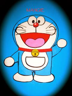 Doraemon en goma eva
