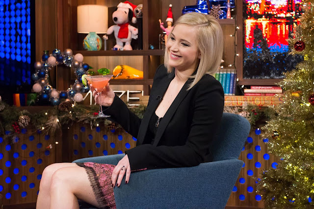 Actress, @ Jennifer Lawrence - Watch What Happens Live