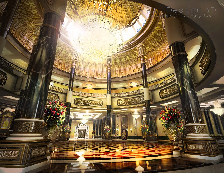 Aku design 3d istana negara jalan duta national palace Palace design