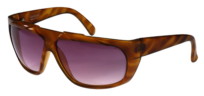 c8cd9f30aa7e From the 80 s comes one pair of ultra-cool takes on shield sunglasses from  Gianni Versace in a warm amber hue that boast a braided top for textural  interest ...