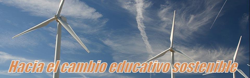 Hacia el cambio educativo sostenible