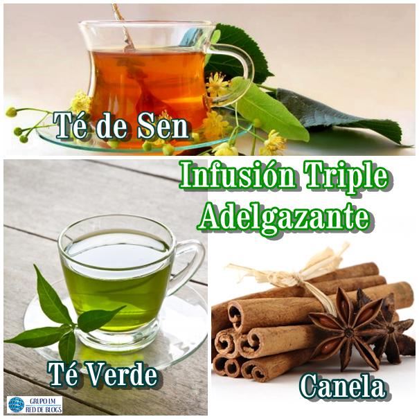 Infusión de Sen, Té Verde y Canela