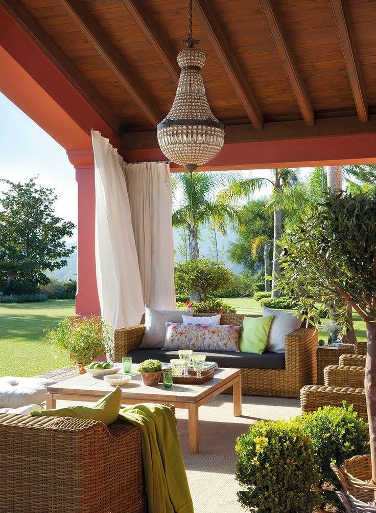 Um convite para ficar na varanda jeito de casa blog - Como hacer un porche barato ...