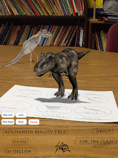New Leo and The T-Rex Activity