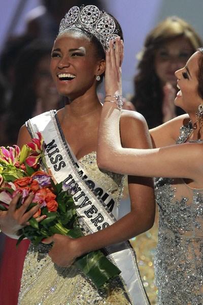Miss Universe Angola Leila Lopes