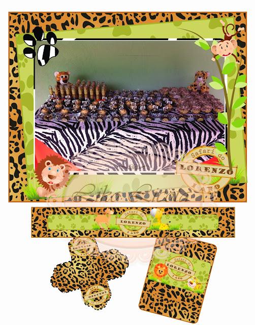rótulo para imprimir safari
